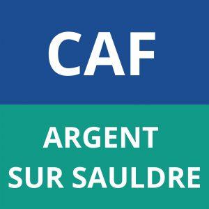 caf ARGENT SUR SAULDRE