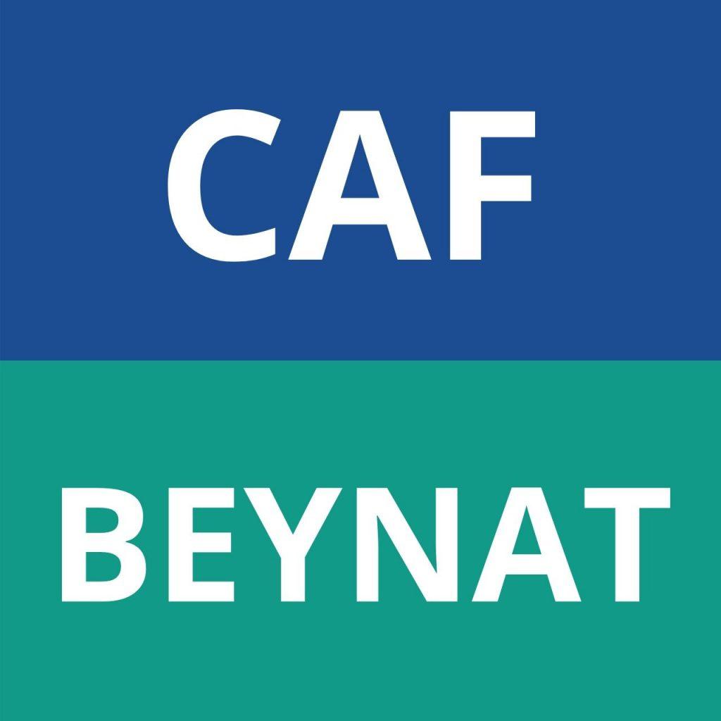 logo caf BEYNAT