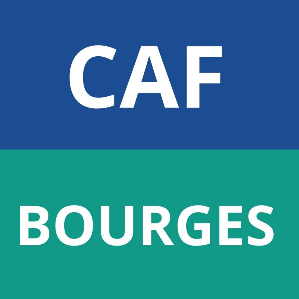 logo caf BOURGES