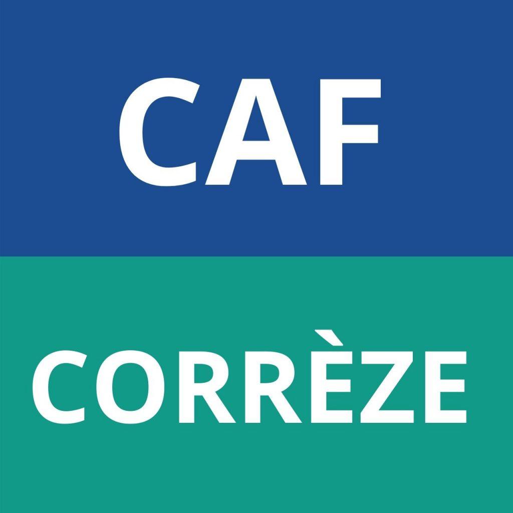 logo CAF Corrèze