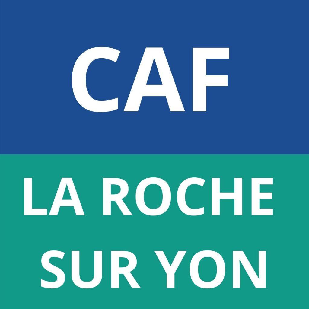logo CAF La Roche sur Yon