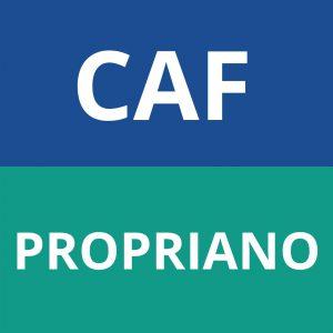 caf PROPRIANO