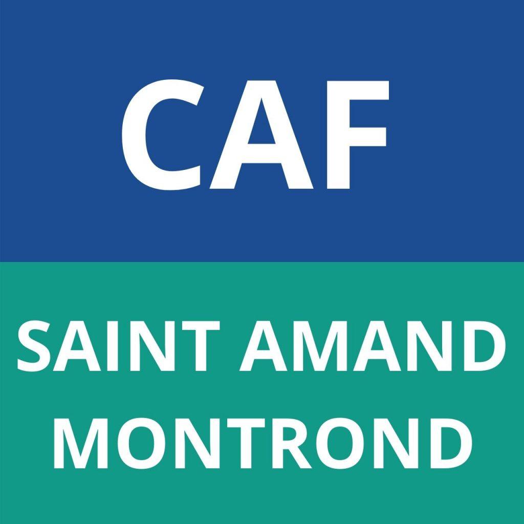 caf SAINT AMAND MONTROND