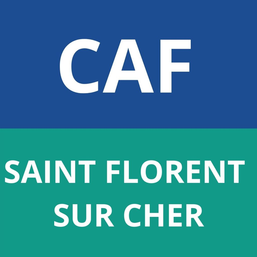 caf SAINT FLORENT SUR CHER