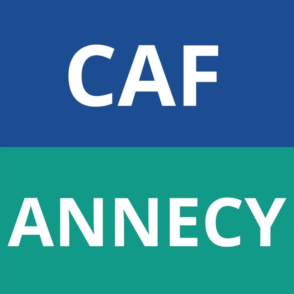 logo caf annecy