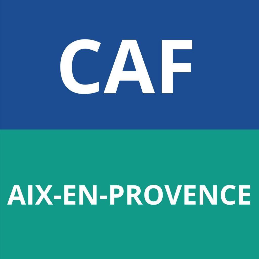 CAF aix en provence logo