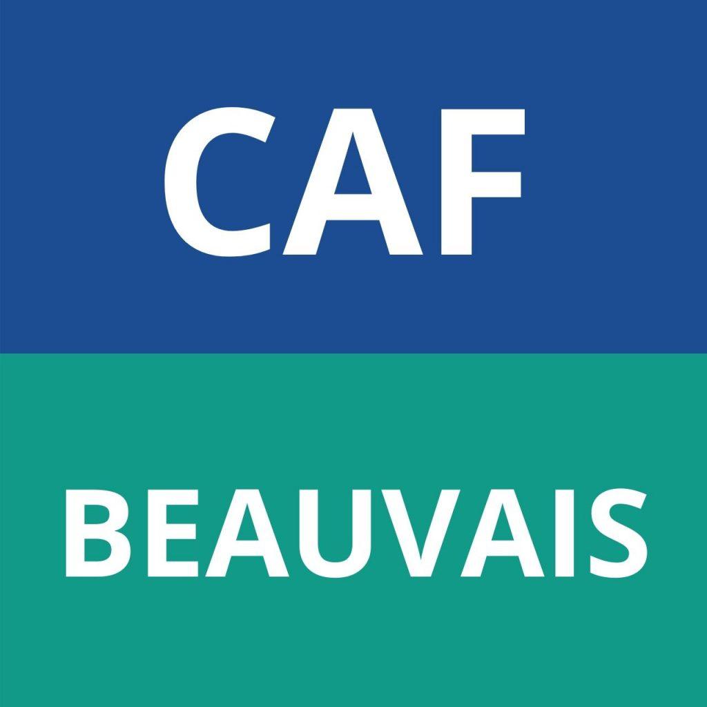 CAF Beauvais logo