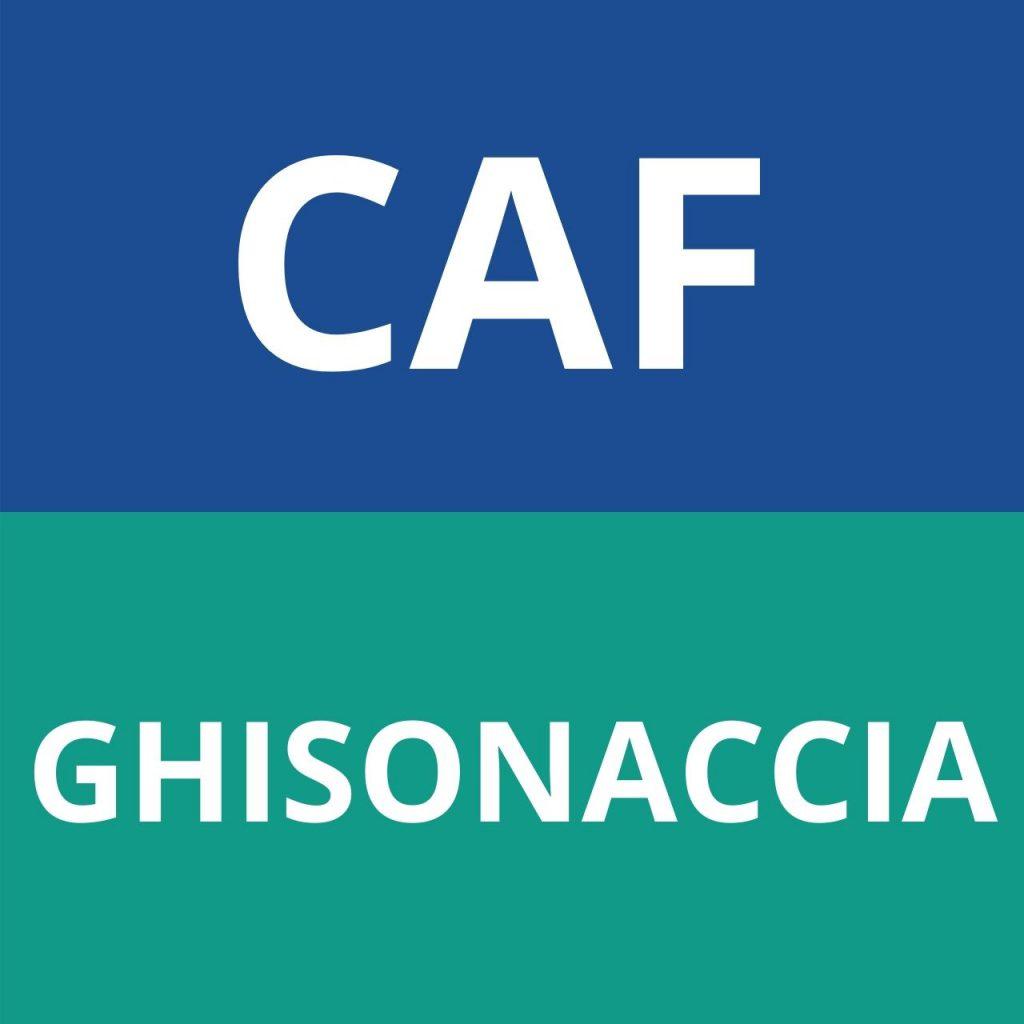 caf GHISONACCIA