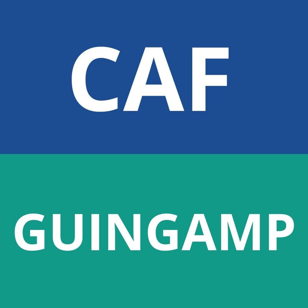 caf GUINGAMP