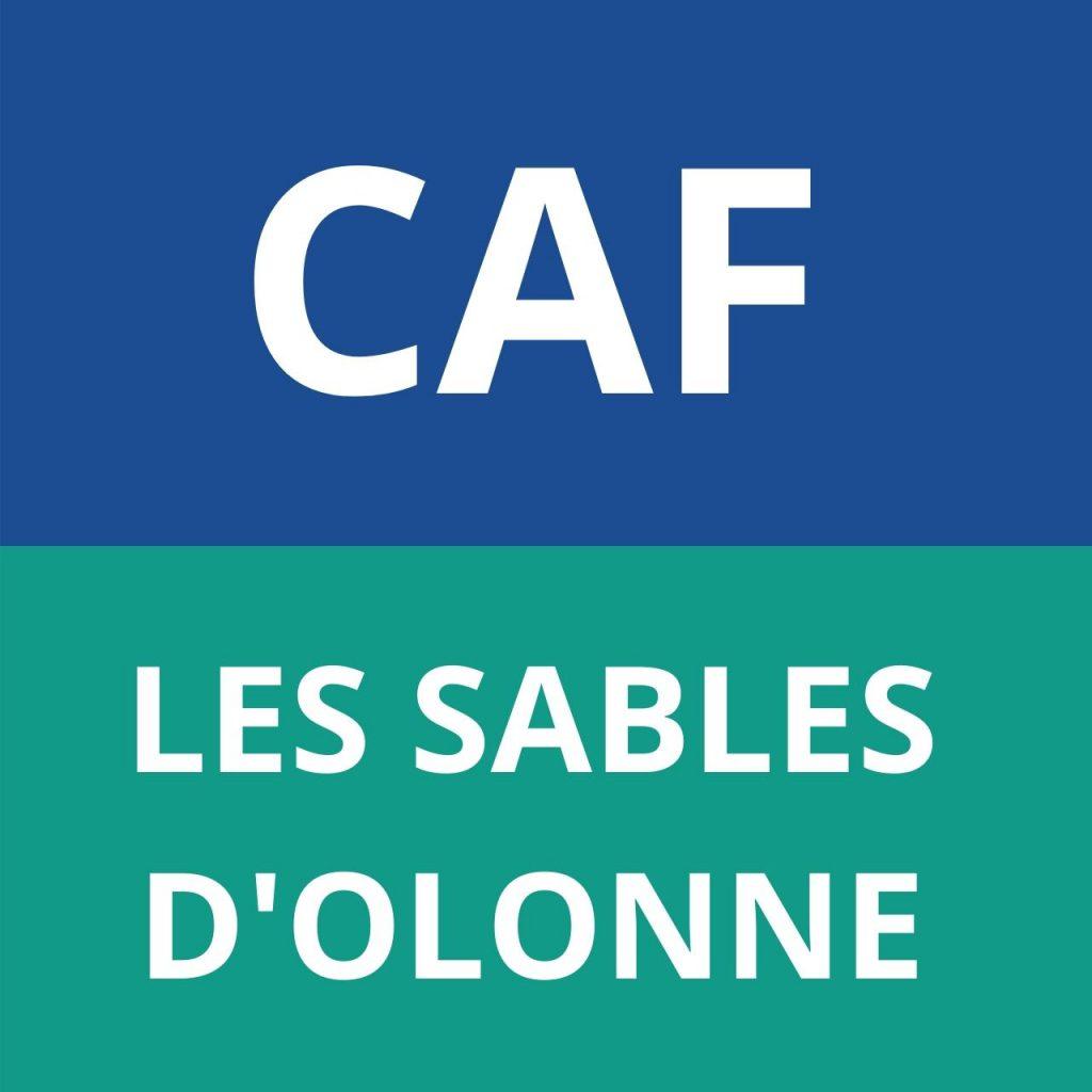 caf LES SABLES D'OLONNE