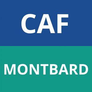 caf MONTBARD