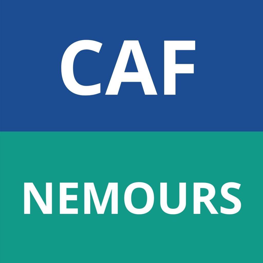 caf NEMOURS