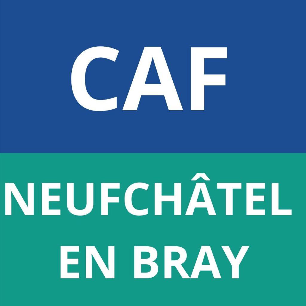 CAF NEUFCHÂTEL EN BRAY logo