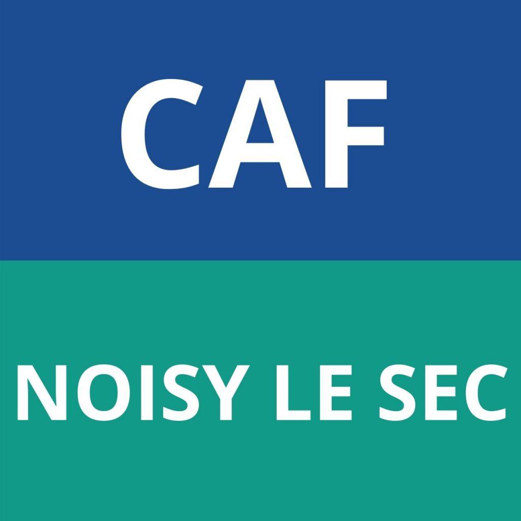 caf NOISY LE SEC