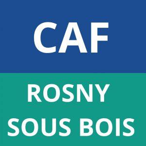 caf ROSNY SOUS BOIS