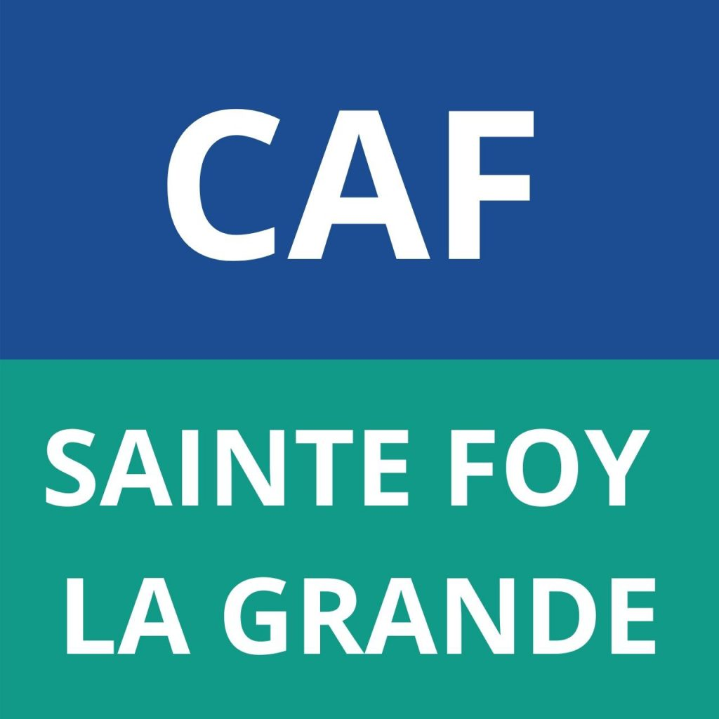caf SAINTE FOY LA GRANDE