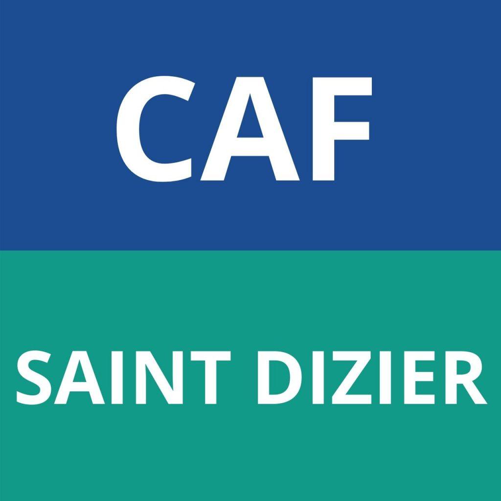 caf SAINT DIZIER