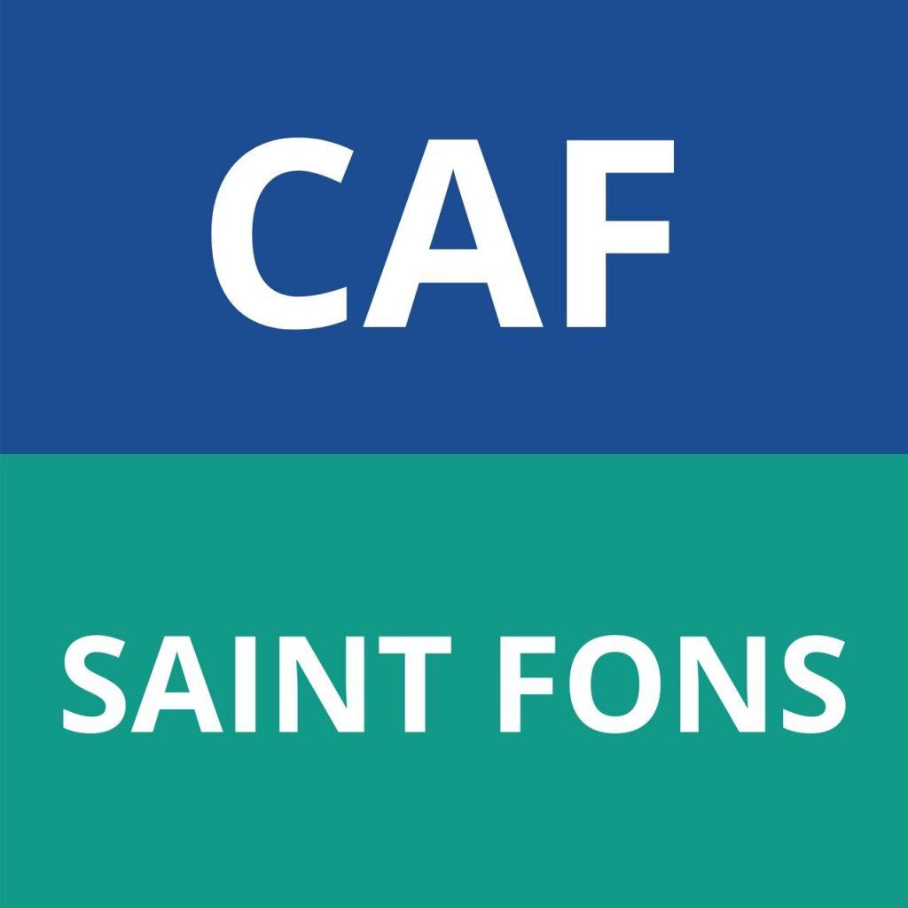 caf SAINT FONS