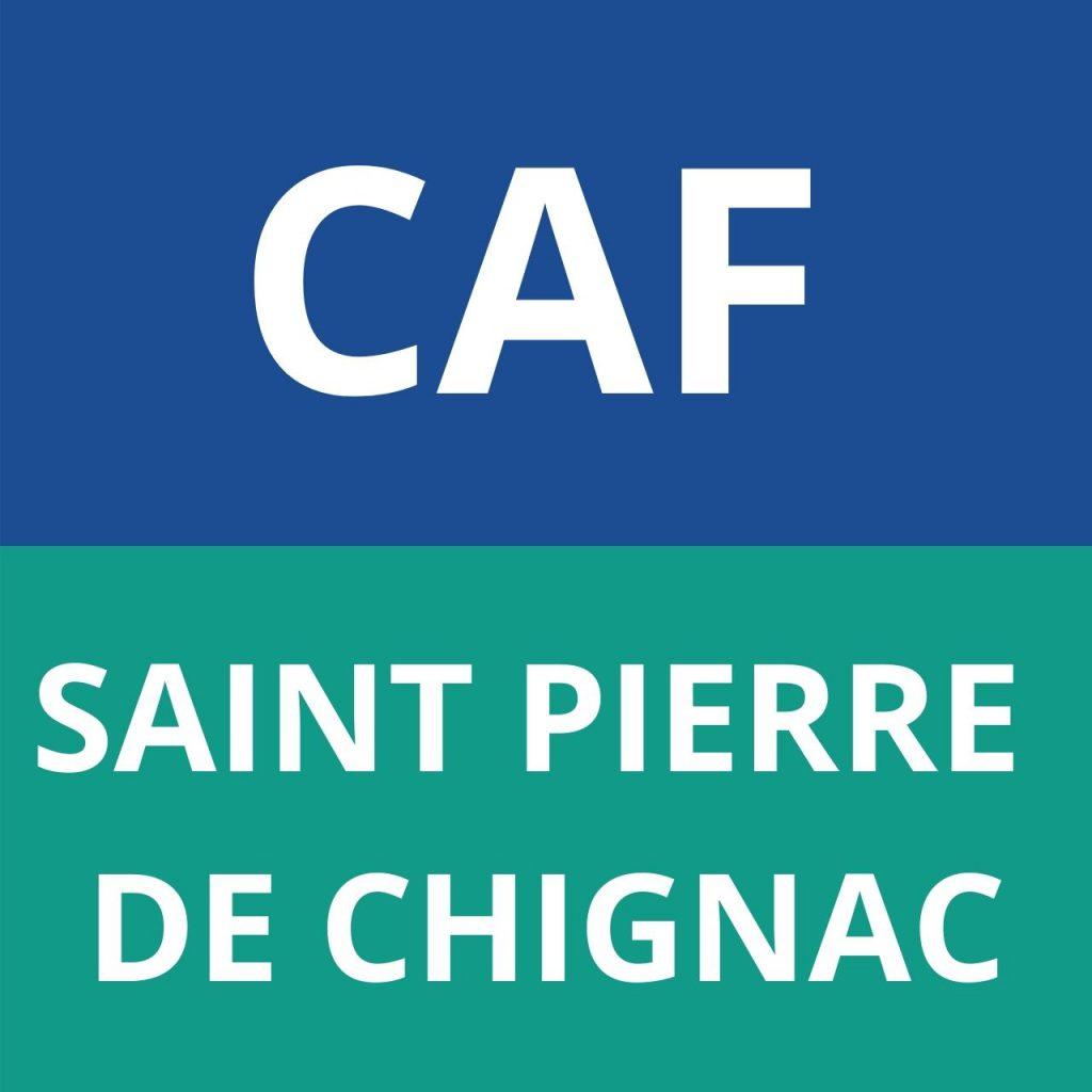 CAF SAINT PIERRE DE CHIGNAC