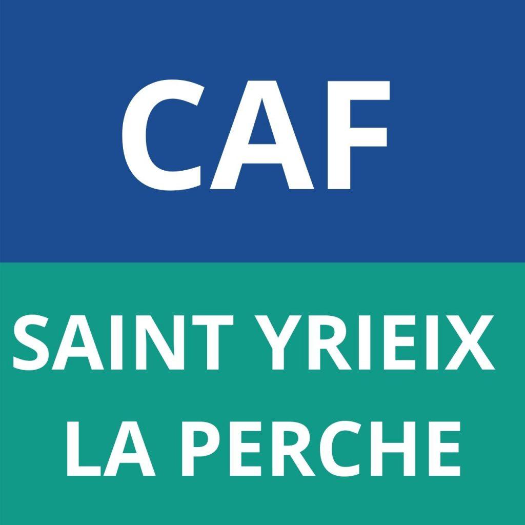 caf SAINT YRIEIX LA PERCHE