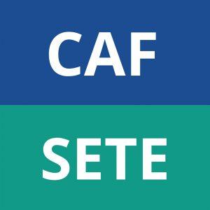 logo CAF SETE