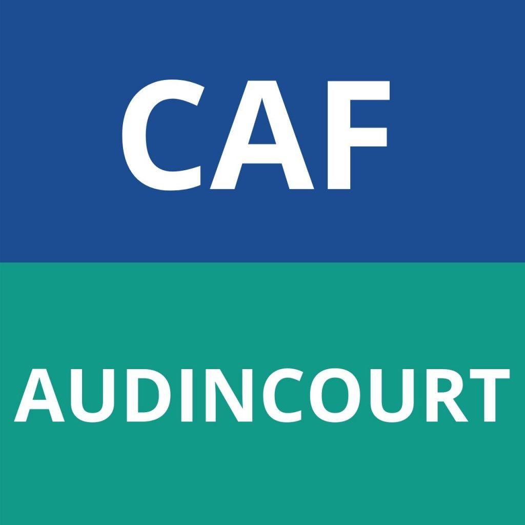caf AUDINCOURT logo
