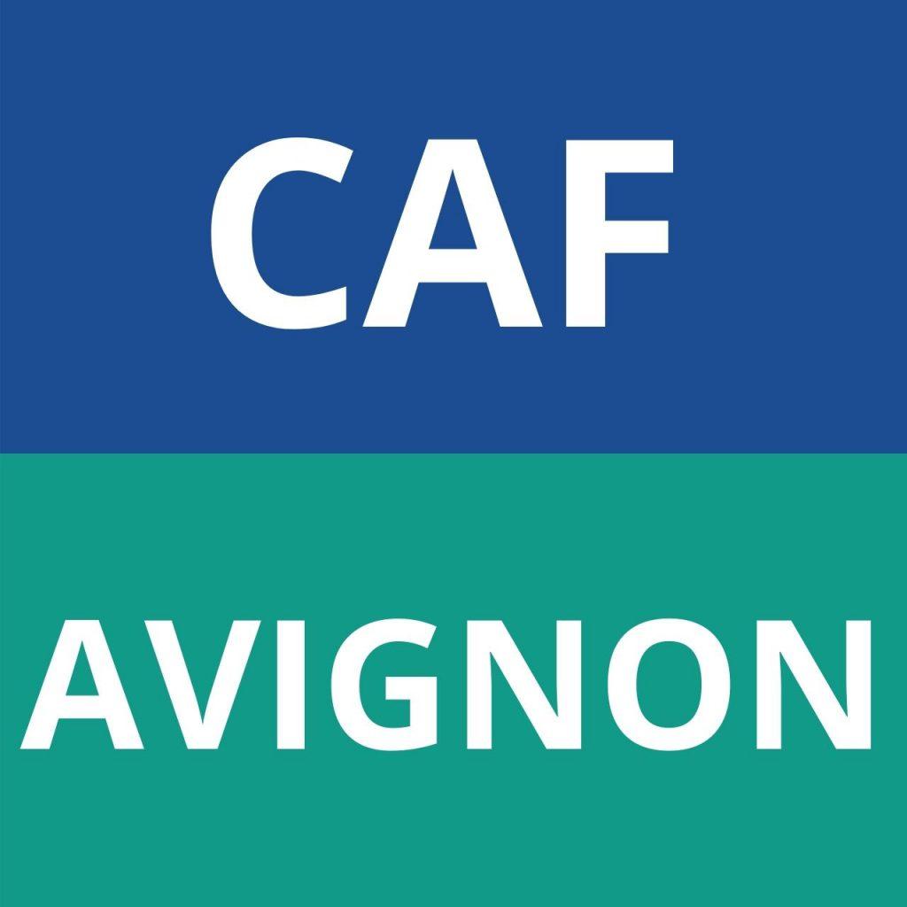 caf AVIGNON