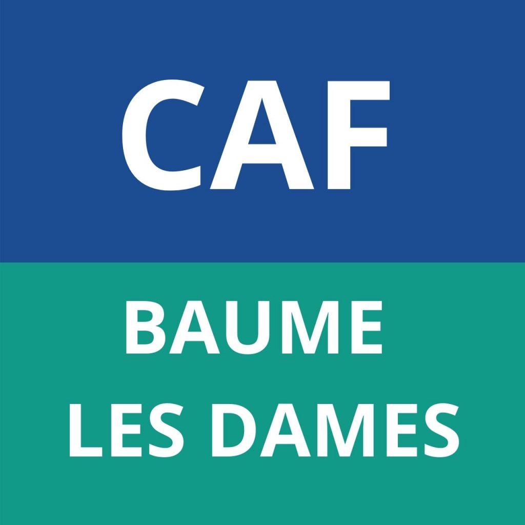 CAF BAUME LES DAMES