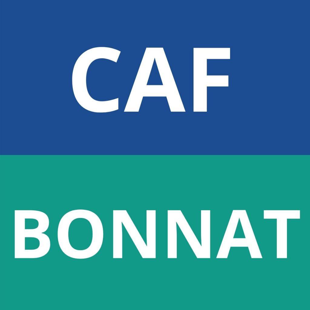 CAF BONNAT