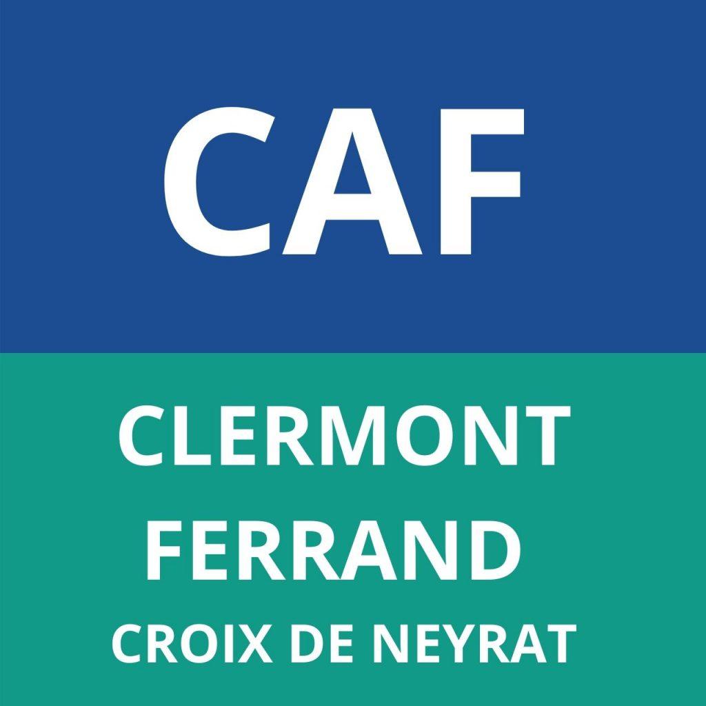 caf CLERMONT FERRAND - CROIX DE NEYRAT