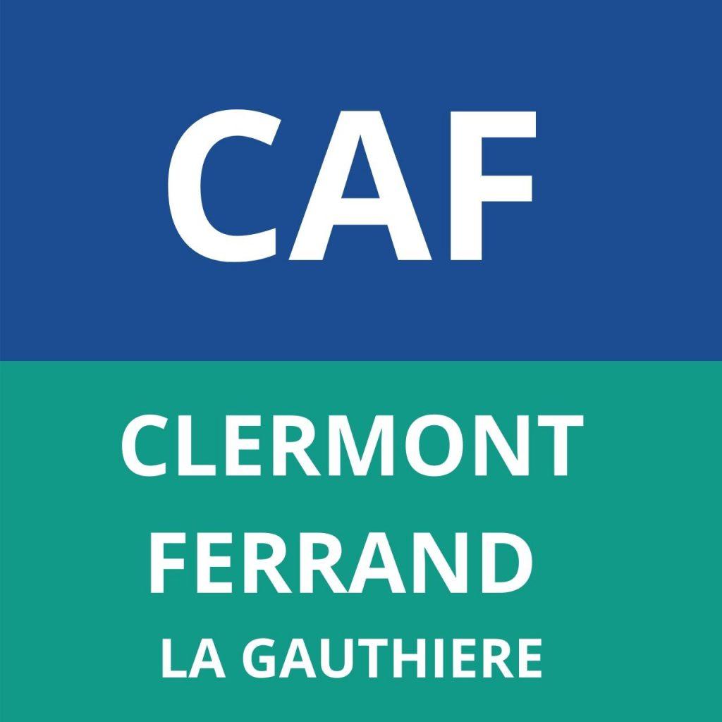 CAF CLERMONT-FERRAN LA GAUTHIERE