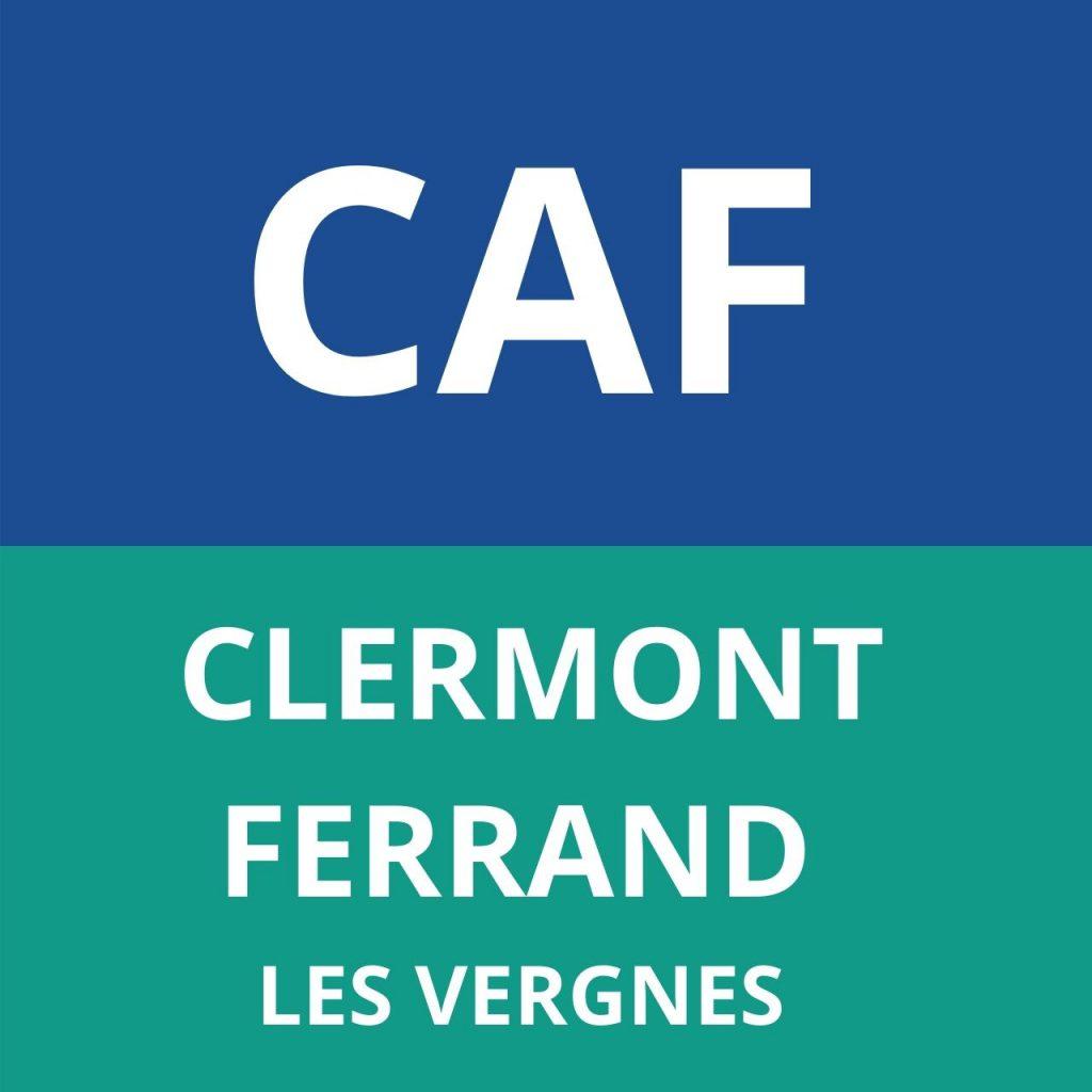 caf Clermont-ferrand les vergnes