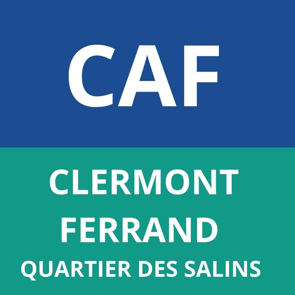 CAF CLERMONT-FERRAND QUARTIER DES SALINS