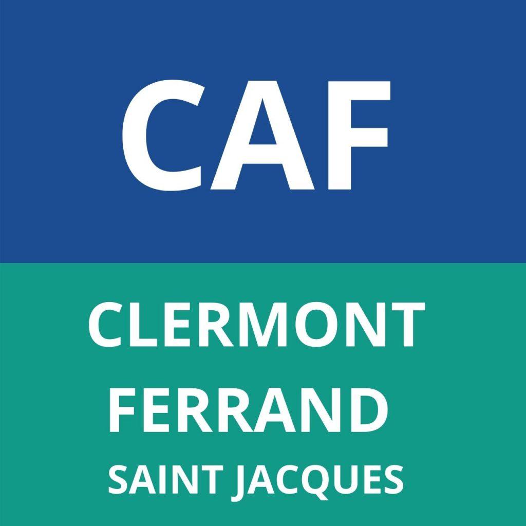 caf CLERMONT-FERRAND SAINT JACQUES