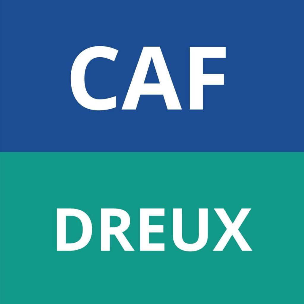 CAF DREUX