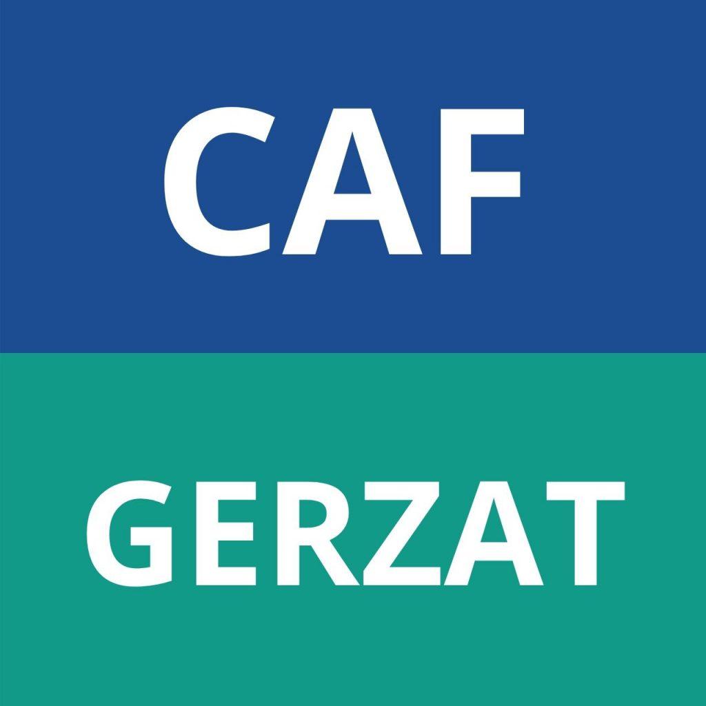 CAF GERZAT