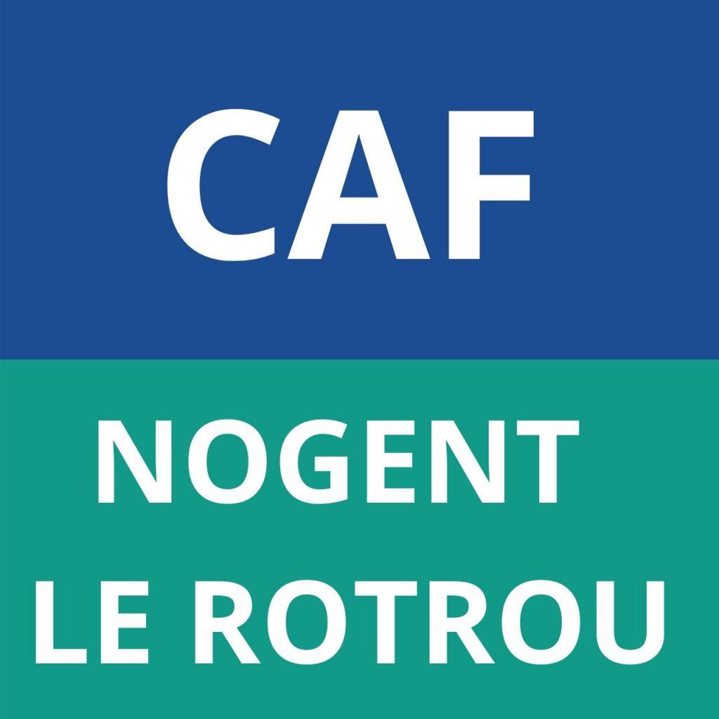 CAF NOGENT LE ROTROU