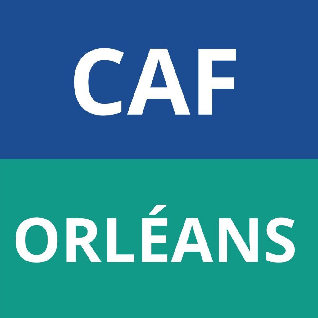 logo caf orléans