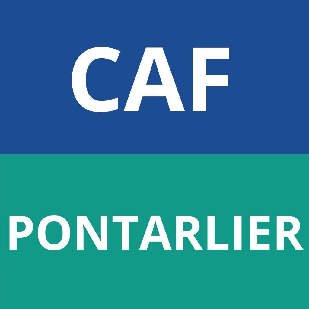 CAF PONTARLIER