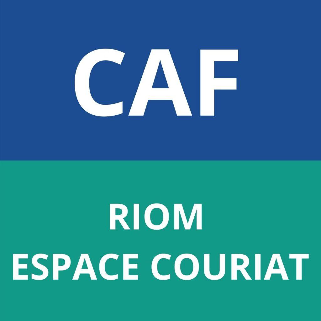 caf RIOM - ESPACE COURIAT