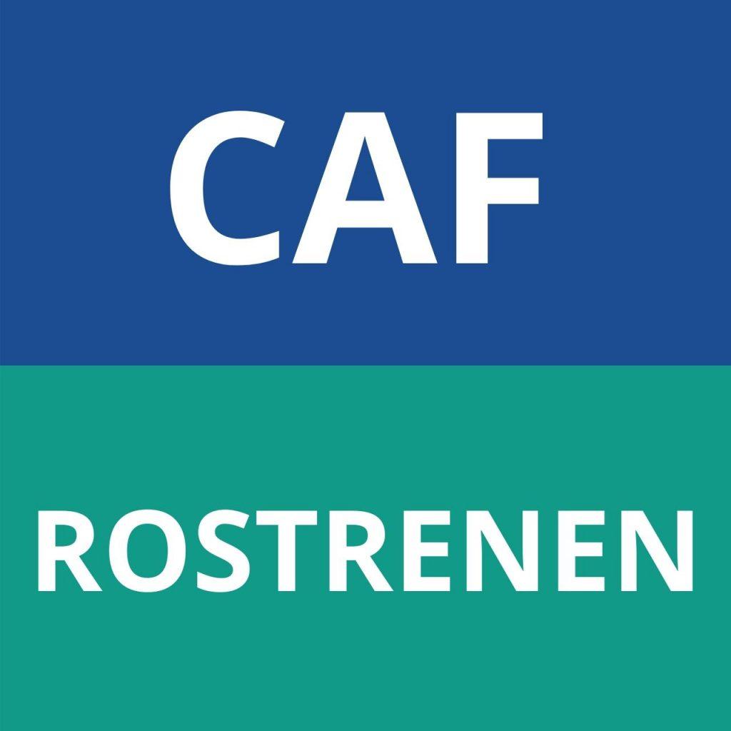 caf ROSTRENEN