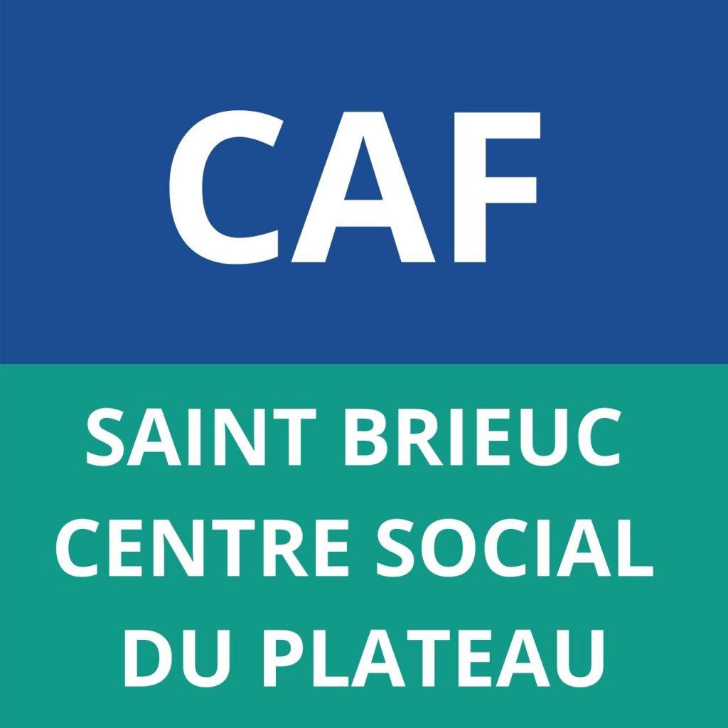 CAF SAINT BRIEUX CENTRE SOCIAL DU PLATEAU