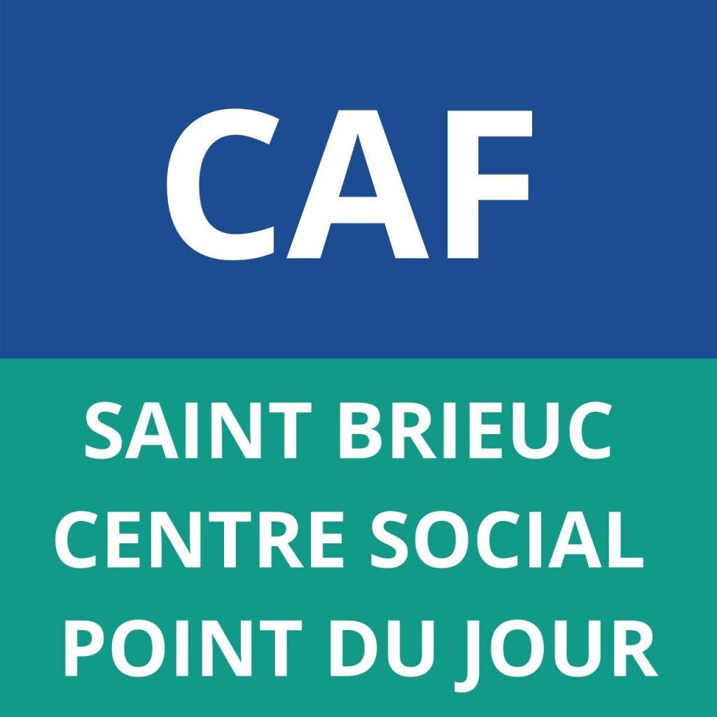 caf SAINT BRIEUC - Centre Social Point du jour