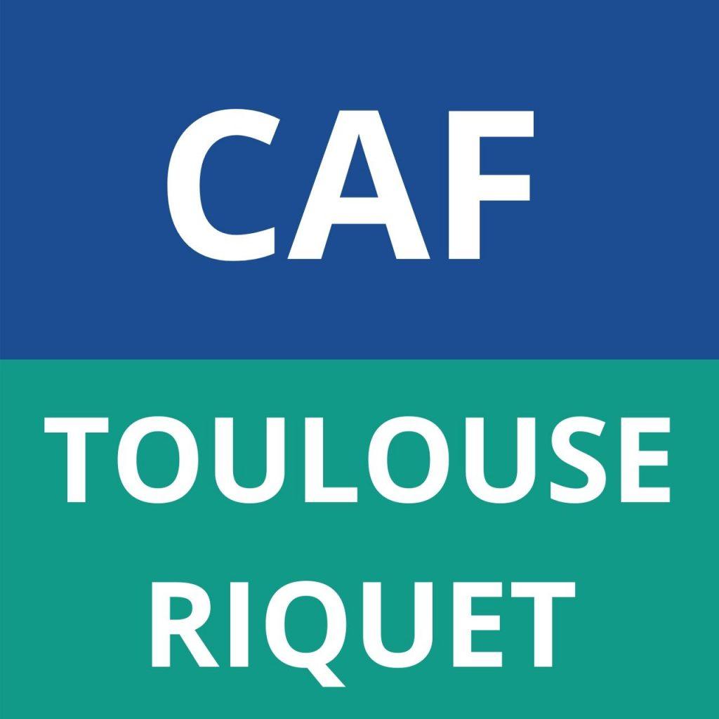 CAF TOULOUSE RIQUET