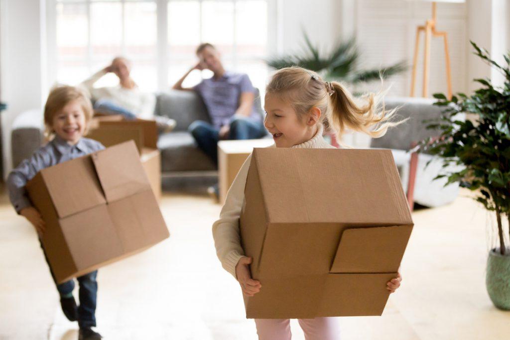 enfant déménagement