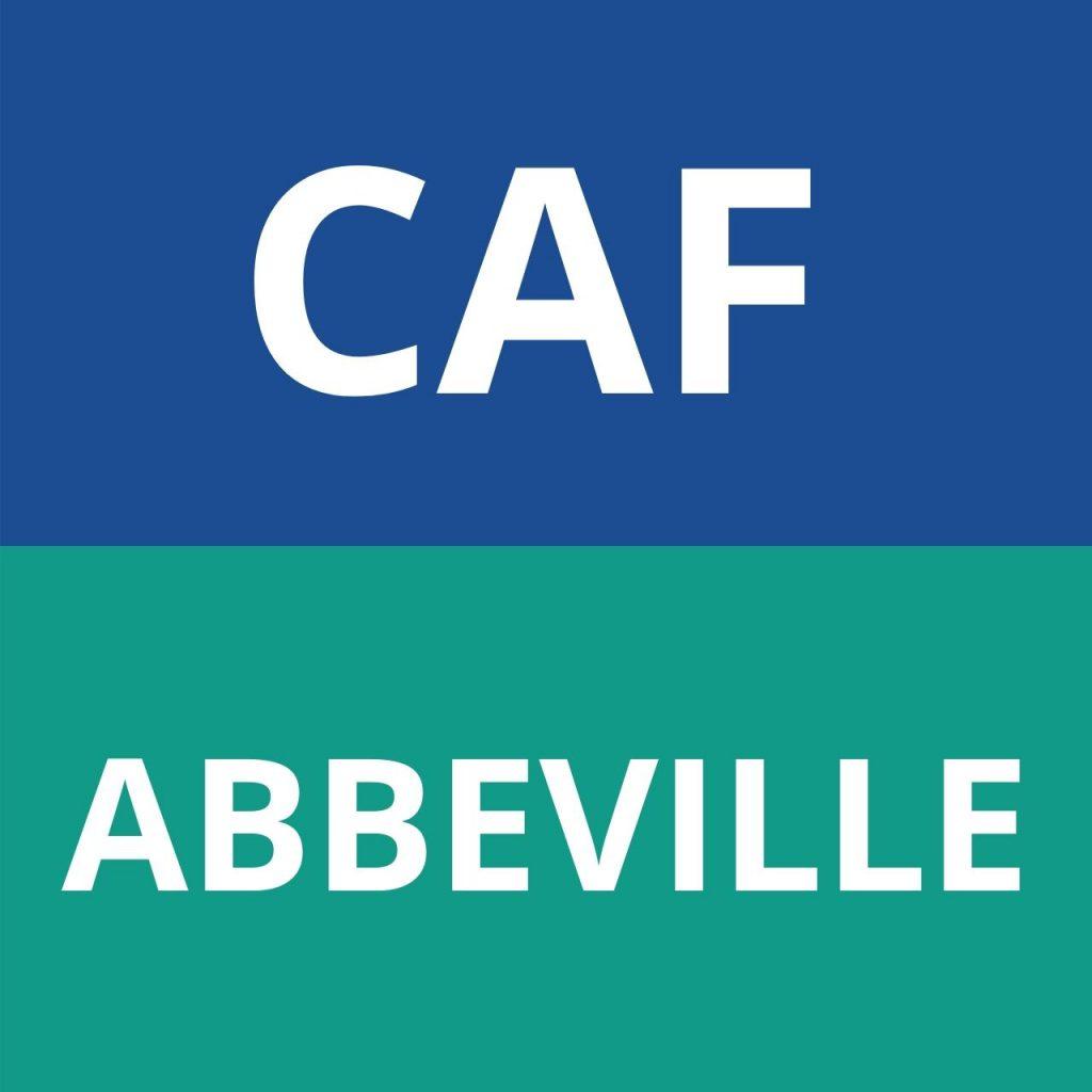 CAF ABBEVILLE Logo