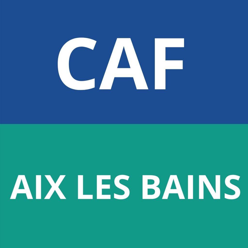 CAF AIX LES BAINS