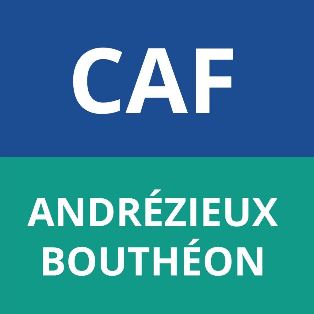 CAF ANDRÉZIEUX-BOUTHÉON