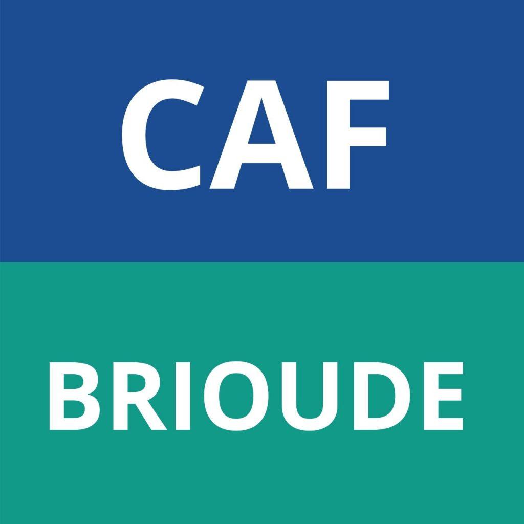 CAF BRIOUDE