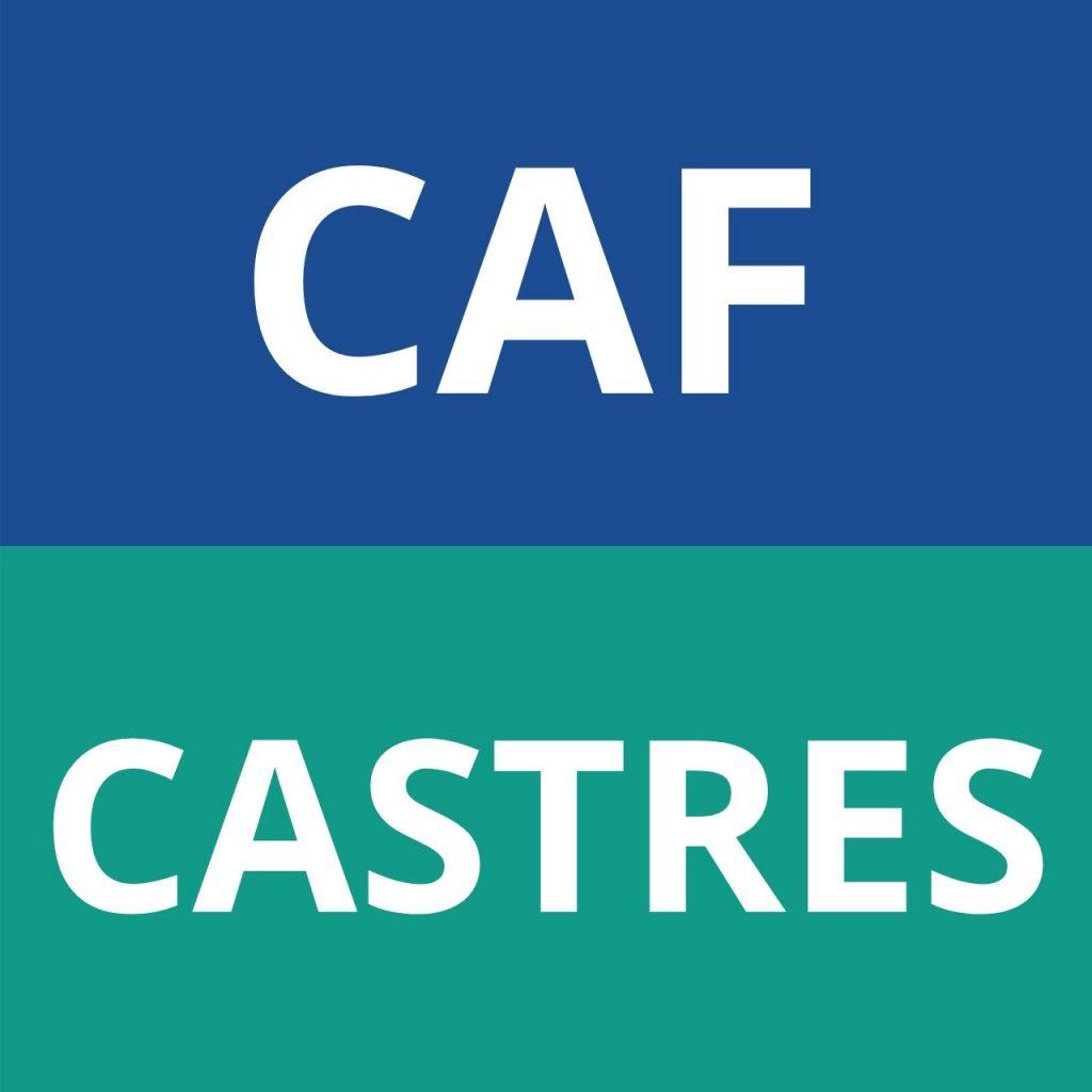 logo CAF CASTRES